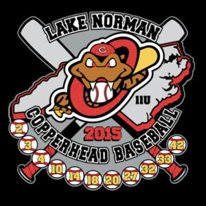 lake-norman-copper-heads-custom-baseball-trading-pins