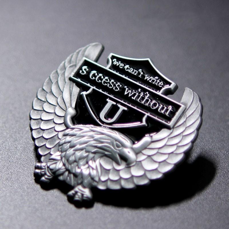 3D Eagle Lapel Pin