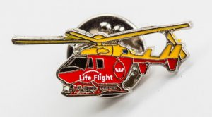 Helicopter lapel pins