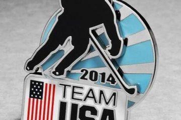 Olympics lapel pins