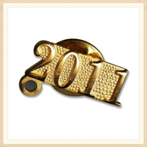 2011 Die Struck Gold Pins