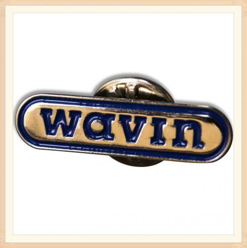 WAVIN Enamel Pin