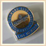 Blue Club Pin