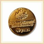 die-struck-40-years-pin