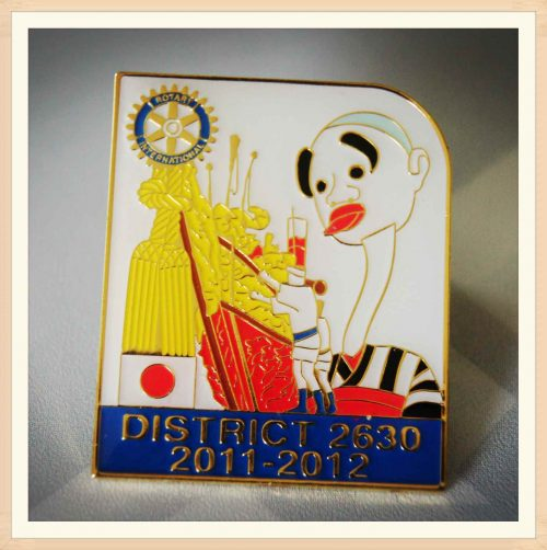 District Pins