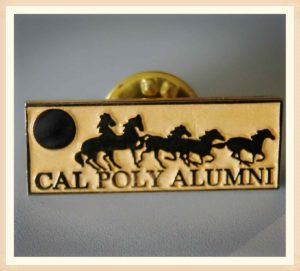 Gold Horses Pins