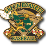 Green Hornets Trading Pins