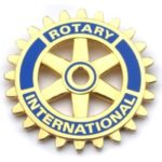 Blue Rotary International Pins