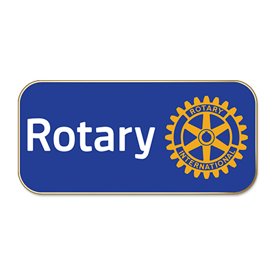 Masterbrand Lapel Pins-Rotary club pins