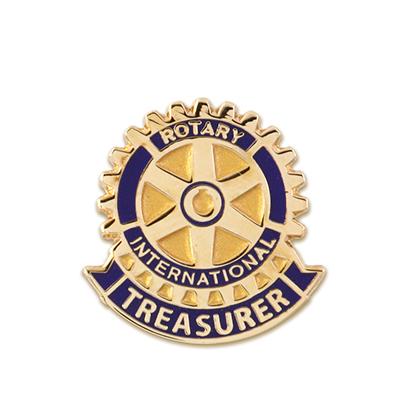 Treasurer Rotary Pins