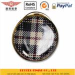 Round Offset Print Button Pins