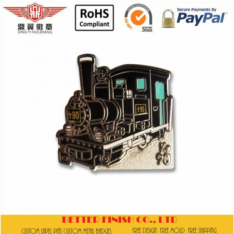 Train Head Pin