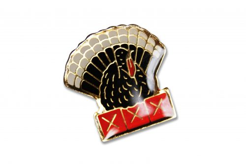 Peacock Bird Enamel Pins