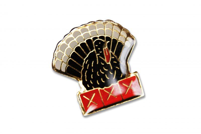 Peacock Bird Enamel Pins