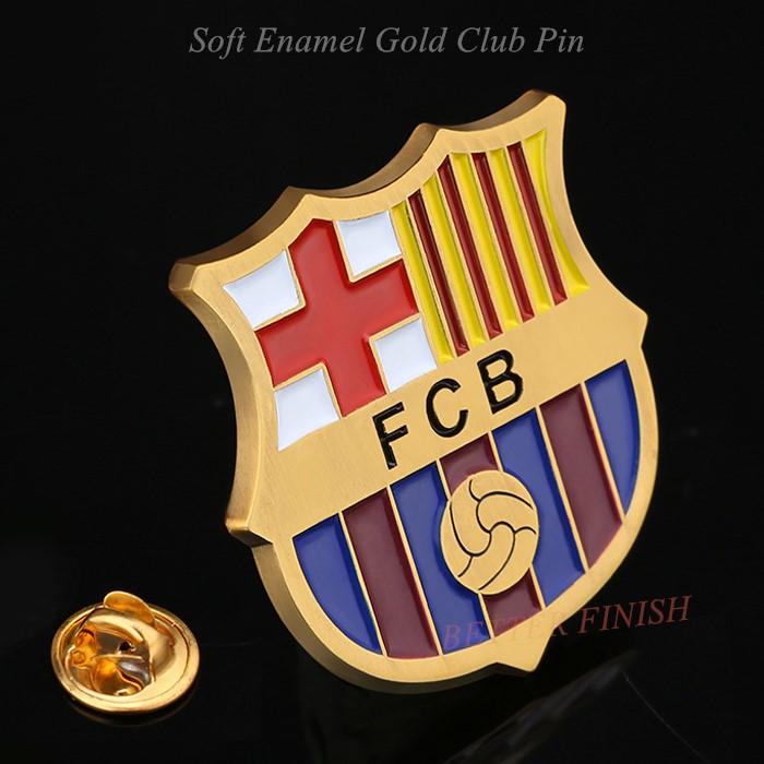 Fcbarcelona Football Club Pins