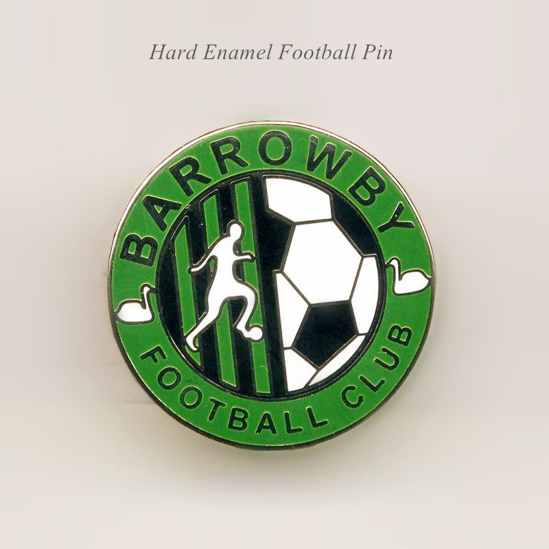 Barrowby Football Pins