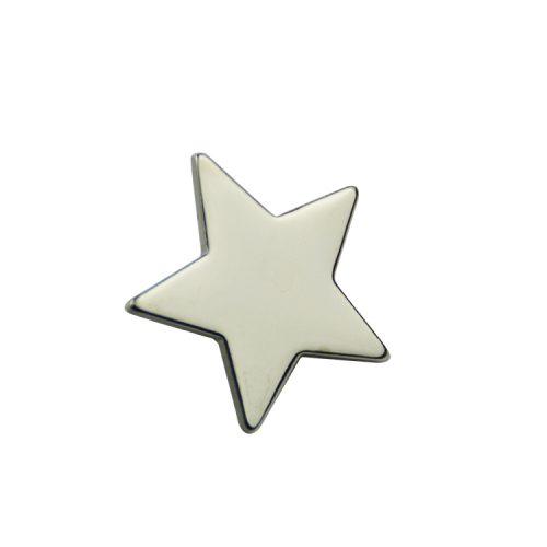 silver star pins