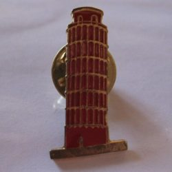 Leaning Tower of Pisa lapel Pins