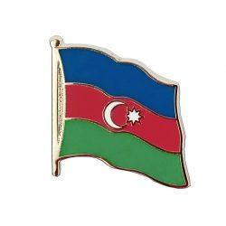 Azerbaijan Enamel Lapel Pins