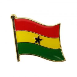 Ghana Enamel Lapel Pins