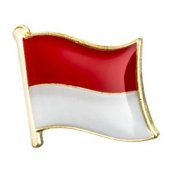 Indonesia Enamel Lapel Pins