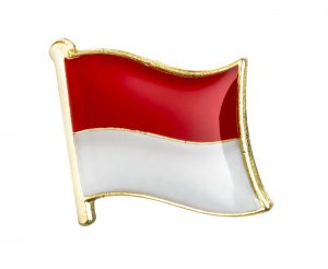 Indonesia Enamel Lapel Pins