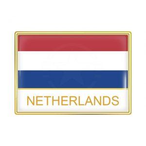 Netherlands Enamel Lapel Pins