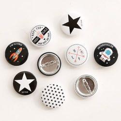 South Korea Enamel Lapel Pins