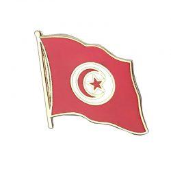 Tunisia Enamel Lapel Pins