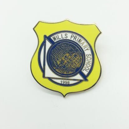 yellow wills school pins