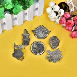 Antique Lapel Pins Without Enamel
