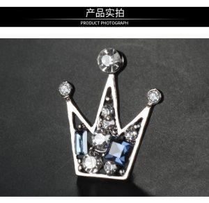 Crown Diamond Custom Lapel Pins