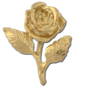 Rose Enamel Lapel Pins Wholesale
