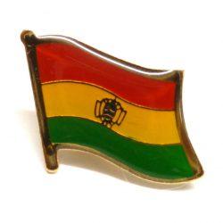 Bolivia Enamel Lapel Pins