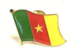 Cameroon Enamel Lapel Pins