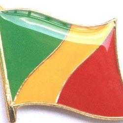 Congo Enamel Lapel Pins