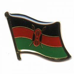 Kenya Enamel Lapel Pins