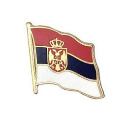 Serbia Enamel Lapel Pins