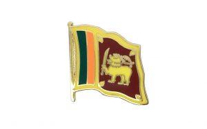 Sri Lanka Enamel Lapel Pins