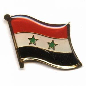 Syria Enamel Lapel Pins