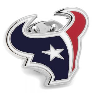 Houston Enamel Lapel Pins