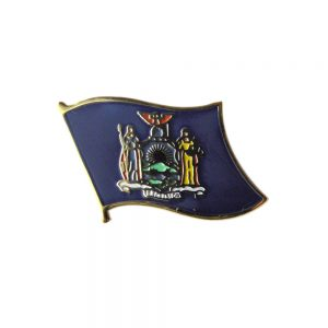 New York Enamel Lapel Pins