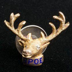 Elk Die struck enamel pins