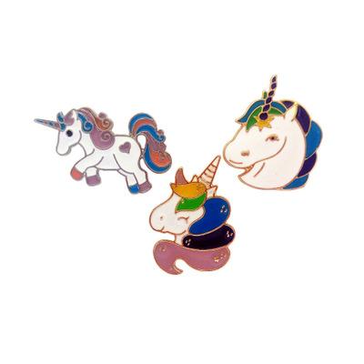 Flying Horse Metal Lapel Pins