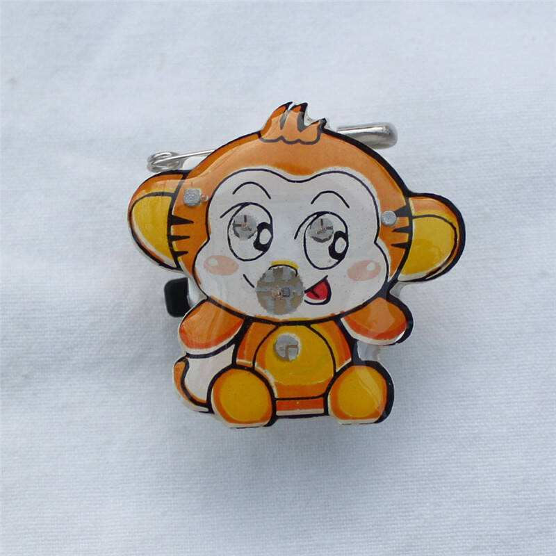 Monkey Enamel Lapel Pins