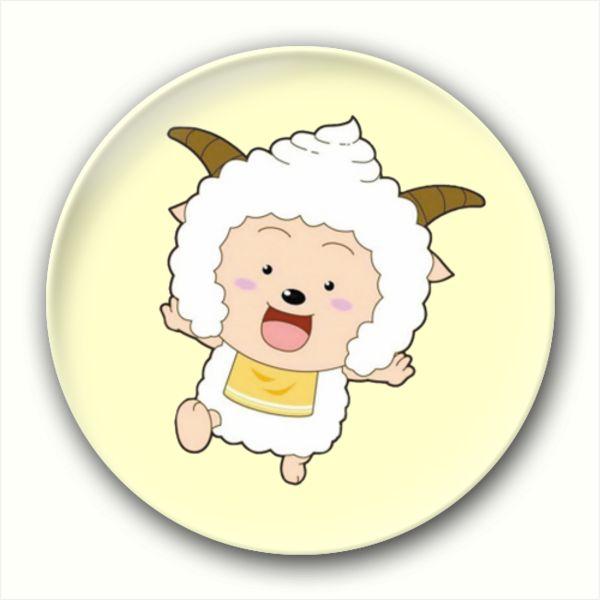 Sheep Enamel Lapel Pins