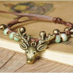 What do boys mean by giving girls elk anklets and lapel pins?