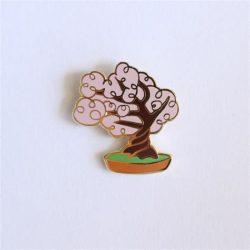 Cherry Blossom Enamel Pins