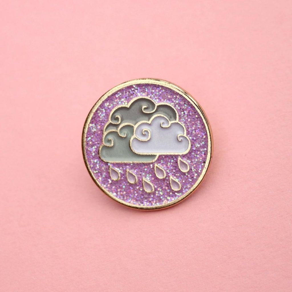 Warmth of an umbrella pin