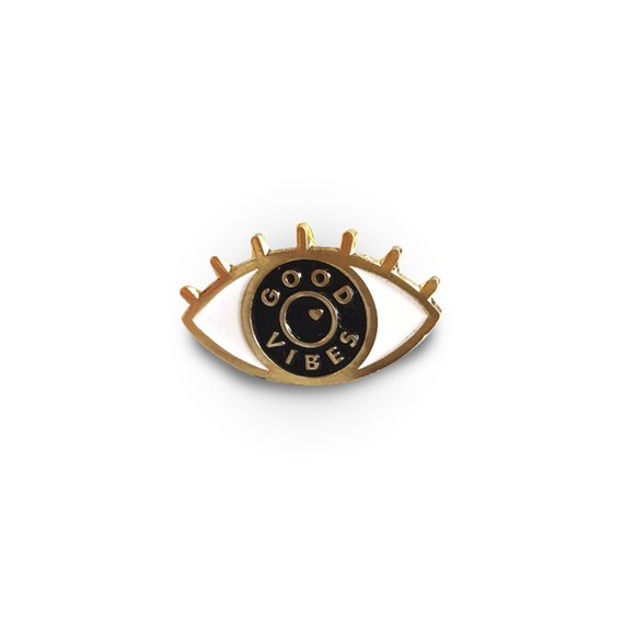 Eye protection Enamel Pins